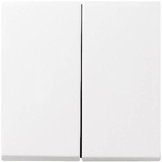 GIRA Abdeckung Serienschalter System 55, Standard 55, E2, Event, Event Klar, Event Opak, Esprit, ClassiX Sauber-Weiß (glänzend) 029503