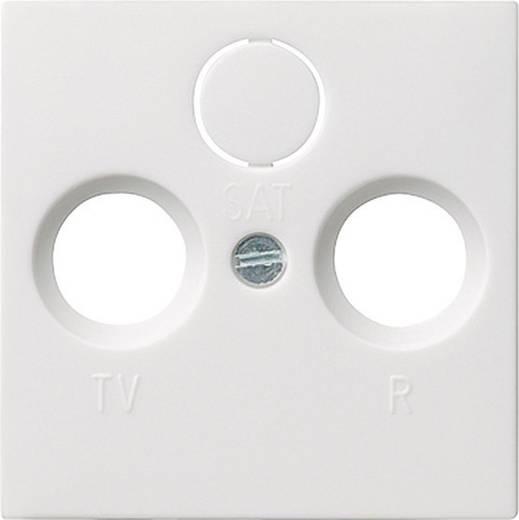 GIRA Abdeckung TV-, Radio-Steckdose System 55, Standard 55, E2, Event, Event Klar, Event Opak, Esprit, ClassiX Reinweiß, Matt 086927