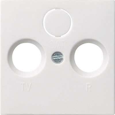 cache prise tv blanc pur mat gira sur le site internet conrad 627065. Black Bedroom Furniture Sets. Home Design Ideas