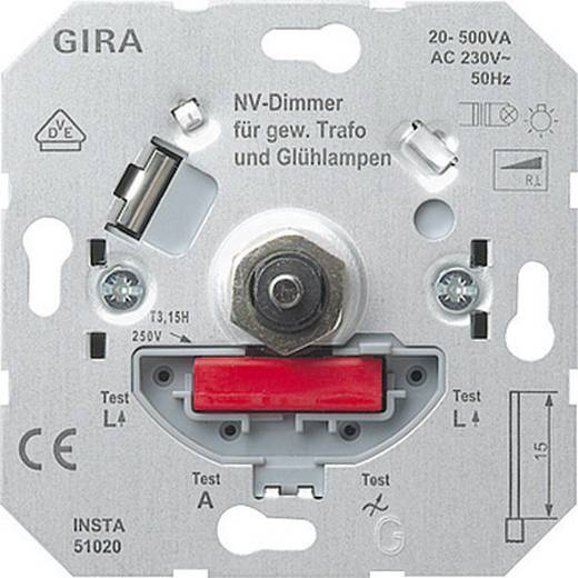 GIRA Einsatz Dimmer Standard 55, E2, Event Klar, Event, Event Opak, Esprit, ClassiX, System 55 226200