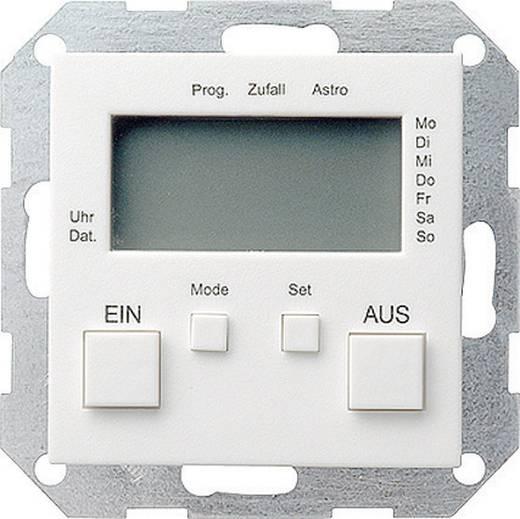 GIRA Einsatz Zeitschaltuhr System 55, Standard 55, E2, Event, Event Klar, Event Opak, Esprit, ClassiX Sauber-Weiß (glänzend) 038503