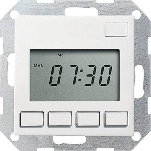 GIRA Einsatz Zeitschaltuhr System 55, Standard 55, E2, Event, Event Klar, Event Opak, Esprit, ClassiX Sauber-Weiß (glän