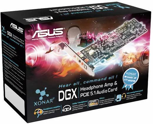 5.1 Soundkarte, Intern Asus XONAR DGX PCIe Digitalausgang, externe Kopfhöreranschlüsse