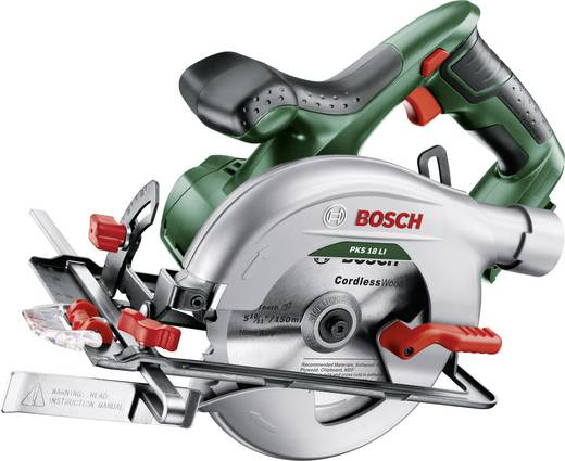 Bosch PKS 18 LI Akku-Handkreissäge 150 mm ohne Akku 18 V