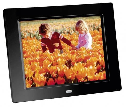 Digitaler Bilderrahmen 20.3 cm 8 Zoll Braun Germany DigiFrame 80 1024 x 768 Pixel Schwarz
