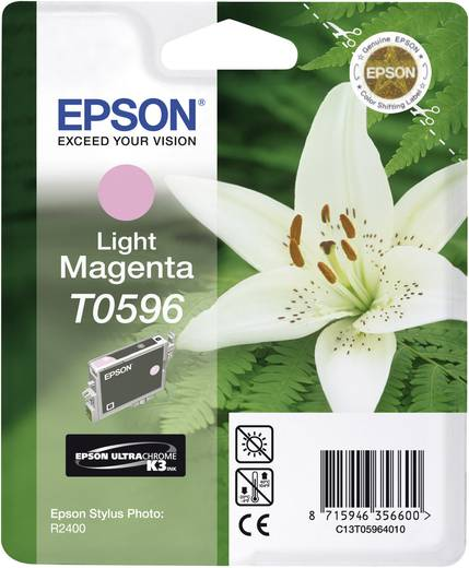 Epson Tinte T0596 Original Light Magenta C13T05964010