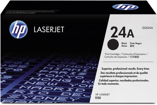 HP Toner 24A Q2624A Original Schwarz 2500 Seiten