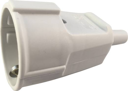Schutzkontaktkupplung PVC 230 V Grau IP20 627755