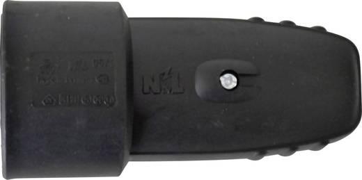 Schutzkontaktkupplung Gummi 230 V Schwarz IP20