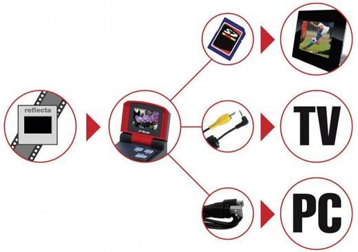 Diascanner, Negativscanner Reflecta X7-Scan 3200 dpi Staub- und Kratzerentfernung: Software Display, Speicherkarten-Steckplatz, Pocketfilme, Instamaticfilme, TV-Ausgang