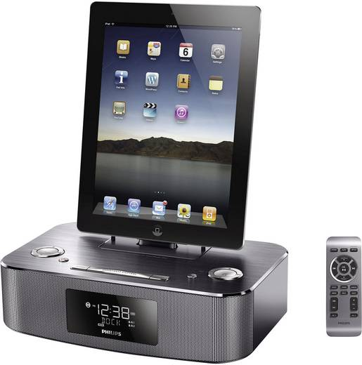 philips dc295 ukw radio mit lightning dockingstation f r ipod iphone ipad kaufen. Black Bedroom Furniture Sets. Home Design Ideas
