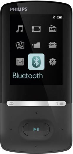 MP3-Player, MP4-Player Philips Gogear Azure 8 GB Schwarz Bluetooth®, FM Radio
