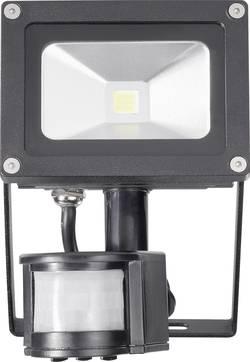 Projecteur LED extérieur avec détecteur de mouvements blanc froid TL-F10CW-P 10 W noir