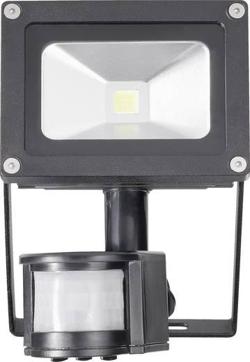 LED-Außenstrahler mit Bewegungsmelder 10 W Kalt-Weiß TL-F10CW-P TL-F10CW-P Schwarz