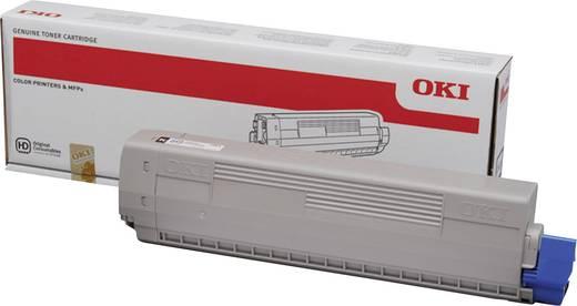 OKI Toner C822 44844616 Original Schwarz 7000 Seiten