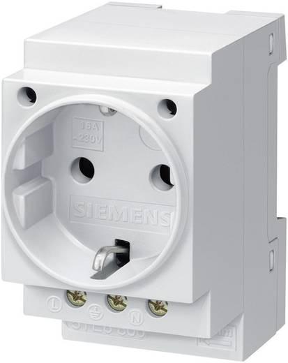 Hutschienen-Steckdose ohne Klappdeckel Grau 16 A 250 V/AC Siemens 5TE6800