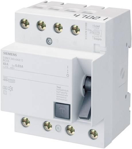 FI-Schutzschalter 4polig 63 A 0.03 A 400 V Siemens 5SM33466KK12