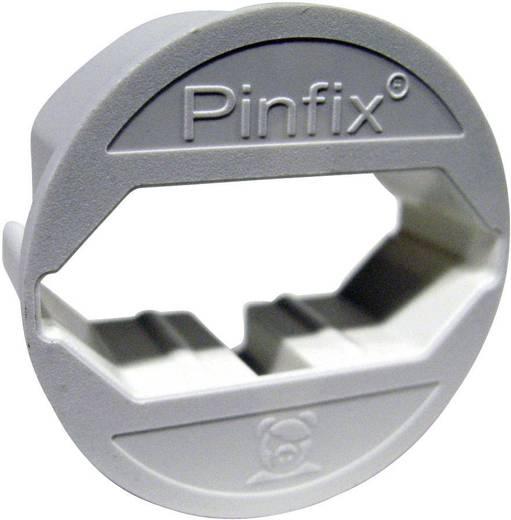 Steckerfixierung Pinfix® Weiß Pinfix /