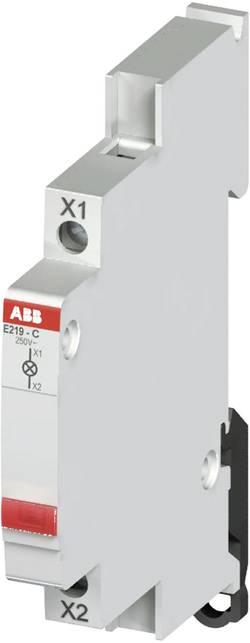 Kontrolka ABB na DIN lištu, 115/250 V, bílá LED, 2CCA703400R0001