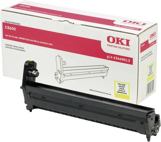 OKI Trommeleinheit Drum Unit C8600 C8800 43449013 Original Gelb 20000 Seiten