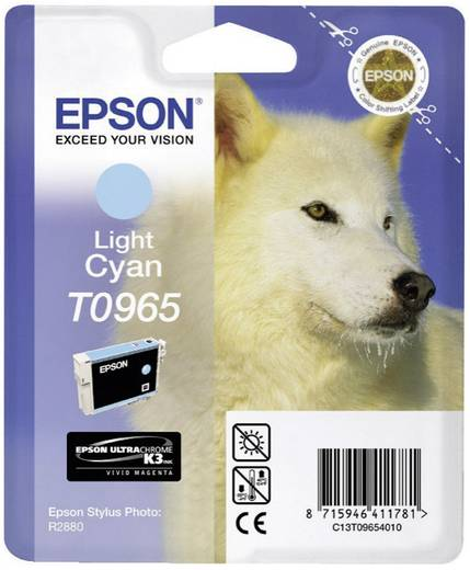 Epson Tinte T0965 Original Light Cyan C13T09654010