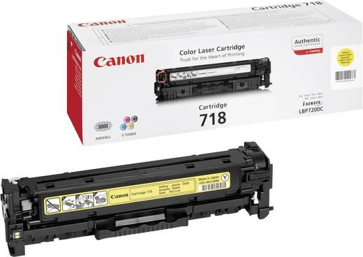 Canon Toner 718 Y 2659B002 Original Gelb 2900 Seiten