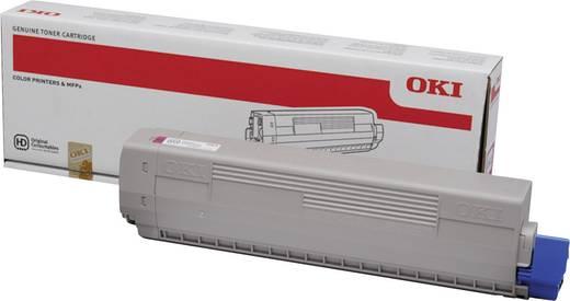 OKI Toner C822 44844614 Original Magenta 7300 Seiten