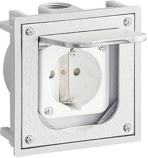 Fußboden-Einbausteckdose IP41 Grau ABL Sursum 147.1461