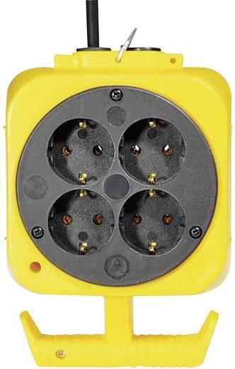 8fach Steckdosen-Verteiler 115.176.0 Gelb, Schwarz