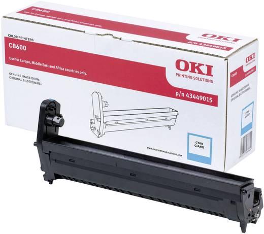 OKI Trommeleinheit Drum Unit C8600 C8800 43449015 Original Cyan 20000 Seiten