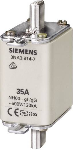 NH-Sicherung Sicherungsgröße = 00 100 A 500 V/AC, 250 V/DC Siemens 3NA38307