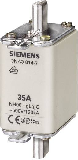 NH-Sicherung Sicherungsgröße = 00 80 A 500 V/AC, 250 V/AC Siemens 3NA38247