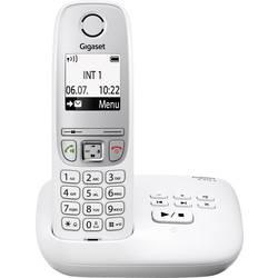 Image of Gigaset A415A DECT, GAP Schnurloses Telefon analog Anrufbeantworter, Freisprechen Weiß
