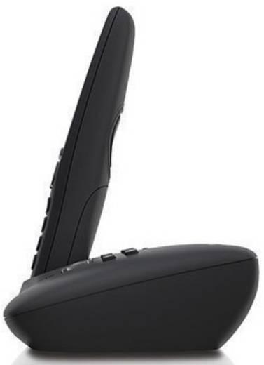 Schnurloses Telefon analog Gigaset A415A Duo Anrufbeantworter, Freisprechen Schwarz, Silber