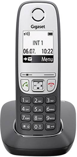 Schnurloses Telefon analog Gigaset A415A Trio Anrufbeantworter, Freisprechen Schwarz