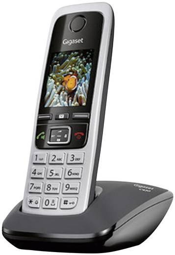 Schnurloses Telefon analog Gigaset C430 Headsetanschluss, Babyphone, Freisprechen Silber, Schwarz