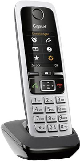 DECT Mobilteil Gigaset C430H Schwarz, Silber