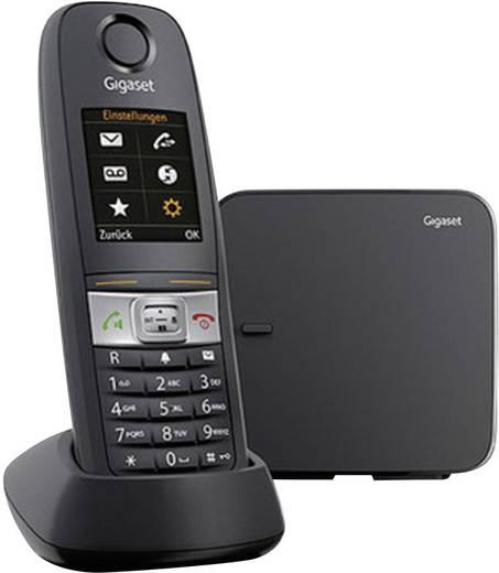 Schnurloses Telefon analog Gigaset E630 Outdoor, Taschenlampe, Headsetanschluss Schwarz