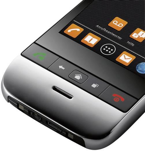 Schnurloses Telefon analog Gigaset SL930A Anrufbeantworter, Headsetanschluss, Android, Babyphone Metall, Piano-Schwarz