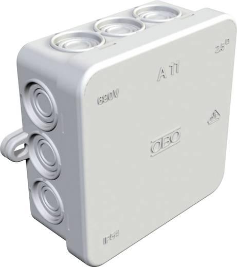 Abzweigkasten (L x B x H) 85 x 85 x 40.5 mm 347114008 Licht-Grau IP54