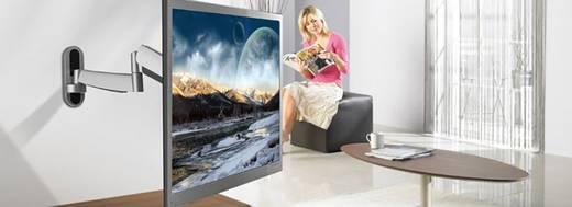 """TV-Wandhalterung SpeaKa Professional SuperFlex 66,0 cm (26"""") - 119,4 cm (47"""") Neigbar+Schwenkbar, Rotierbar Silber, Schw"""