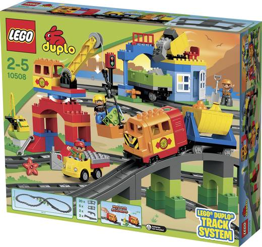LEGO DUPLO® 10508 Eisenbahn Super Set