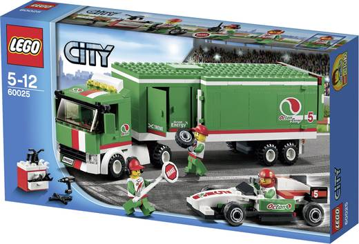 lego city 60025 formel1 truck kaufen. Black Bedroom Furniture Sets. Home Design Ideas