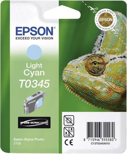 Epson Tintenpatrone T0345 Light Cyan C13T03454010