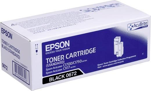 Epson Toner S050672 C13S050672 Original Schwarz 700 Seiten
