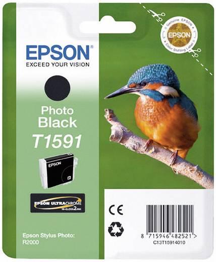 Epson Tinte T1591 Original Foto Schwarz C13T15914010