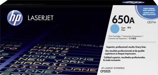 HP Toner 650A CE271A Original Cyan 15000 Seiten