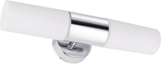 Bad-Wandleuchte Halogen, Energiesparlampe E14 80 W Paulmann Lenia 70350 Chrom