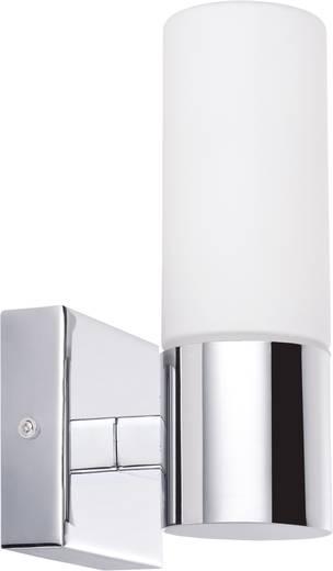 Bad-Wandleuchte Halogen, Energiesparlampe E14 40 W Paulmann Gemini 70354 Chrom