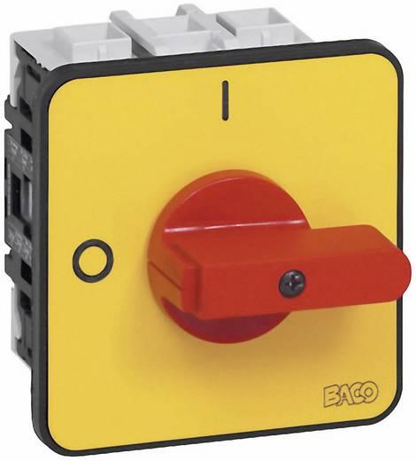 Lasttrennschalter 63 A 1 x 90 ° Gelb, Rot BACO BA172302 1 St.